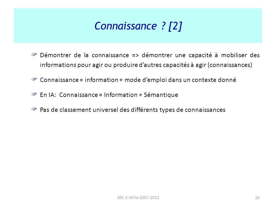 Connaissance [2]